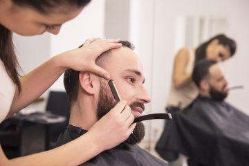 cabeleireiro barbeiro formação ceac homem barba cabeleireira curso
